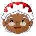🤶🏾 Mrs. Claus: medium-dark skin tone Emoji on Samsung Platform