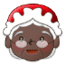 🤶🏿 Mrs. Claus: dark skin tone Emoji on Samsung Platform