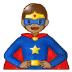 🦸🏽 superhero: medium skin tone Emoji on Samsung Platform