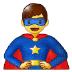 🦸♂️ man superhero Emoji on Samsung Platform