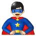 🦸🏻♂️ man superhero: light skin tone Emoji on Samsung Platform