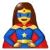 🦸♀️ woman superhero Emoji on Samsung Platform