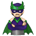 🦹🏻 supervillain: light skin tone Emoji on Samsung Platform