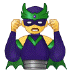 🦹‍♂️ man supervillain Emoji on Samsung Platform