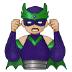 🦹🏼♂️ man supervillain: medium-light skin tone Emoji on Samsung Platform
