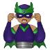 🦹🏽♂️ man supervillain: medium skin tone Emoji on Samsung Platform