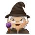 🧙🏼 mage: medium-light skin tone Emoji on Samsung Platform