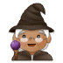 🧙🏽 mage: medium skin tone Emoji on Samsung Platform