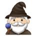 🧙🏻♂️ man mage: light skin tone Emoji on Samsung Platform