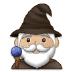 🧙🏼♂️ man mage: medium-light skin tone Emoji on Samsung Platform