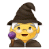 🧙♀️ woman mage Emoji on Samsung Platform