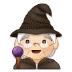 🧙🏻♀️ woman mage: light skin tone Emoji on Samsung Platform