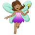 🧚🏽 fairy: medium skin tone Emoji on Samsung Platform