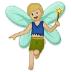 🧚🏼♂️ man fairy: medium-light skin tone Emoji on Samsung Platform