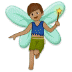 🧚🏽‍♂️ man fairy: medium skin tone Emoji on Samsung Platform