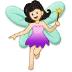 🧚🏻♀️ woman fairy: light skin tone Emoji on Samsung Platform