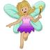 🧚🏼♀️ woman fairy: medium-light skin tone Emoji on Samsung Platform