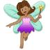 🧚🏽♀️ woman fairy: medium skin tone Emoji on Samsung Platform