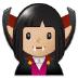 🧛🏼 vampire: medium-light skin tone Emoji on Samsung Platform