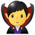 🧛♂️ man vampire Emoji on Samsung Platform