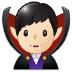 🧛🏻♂️ man vampire: light skin tone Emoji on Samsung Platform