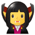 🧛‍♀️ woman vampire Emoji on Samsung Platform