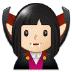 🧛🏻♀️ woman vampire: light skin tone Emoji on Samsung Platform
