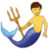 🧜♂️ merman Emoji on Samsung Platform