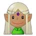 🧝🏽 Medium Skin Tone Elf Emoji on Samsung Platform