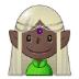 🧝🏿 Dark Skin Tone Elf Emoji on Samsung Platform