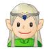 🧝🏻♂️ man elf: light skin tone Emoji on Samsung Platform