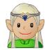 🧝🏼♂️ man elf: medium-light skin tone Emoji on Samsung Platform