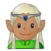 🧝🏽‍♂️ man elf: medium skin tone Emoji on Samsung Platform