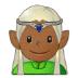 🧝🏾♂️ man elf: medium-dark skin tone Emoji on Samsung Platform