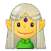 🧝‍♀️ woman elf Emoji on Samsung Platform