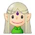 🧝🏻♀️ Light Skin Tone Female Elf Emoji on Samsung Platform