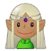 🧝🏽‍♀️ woman elf: medium skin tone Emoji on Samsung Platform