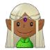 🧝🏾♀️ woman elf: medium-dark skin tone Emoji on Samsung Platform