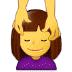 💆 person getting massage Emoji on Samsung Platform