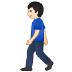 🚶🏻 person walking: light skin tone Emoji on Samsung Platform