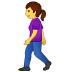 🚶♀️ woman walking Emoji on Samsung Platform