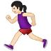 🏃🏻♀️ woman running: light skin tone Emoji on Samsung Platform