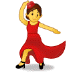 💃 woman dancing Emoji on Samsung Platform