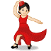 💃🏻 woman dancing: light skin tone Emoji on Samsung Platform