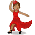 💃🏽 woman dancing: medium skin tone Emoji on Samsung Platform
