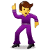 🕺 man dancing Emoji on Samsung Platform