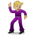 🕺🏼 Medium Light Skin Tone Man Dancing Emoji on Samsung Platform