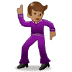 🕺🏽 man dancing: medium skin tone Emoji on Samsung Platform