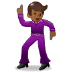 🕺🏾 man dancing: medium-dark skin tone Emoji on Samsung Platform