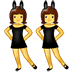👯 people with bunny ears Emoji on Samsung Platform